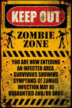 Zombie - Keep Out