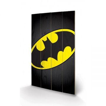 Batman - Logo Wooden Wall Art