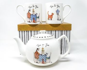 Sam Toft - Mustard Collection Tea For Two Gift Set