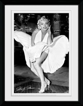 Marilyn Monroe - Times Square Framed Collector Print