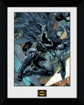 Batman - Swing Framed Collector Print