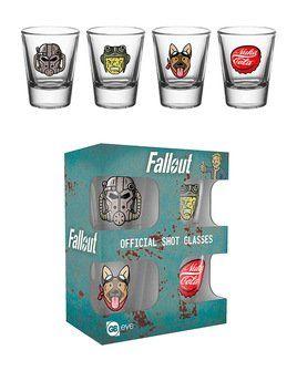 Fallout Icons - Shot Glasses