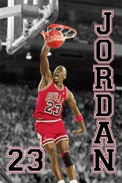 NBA Michael Jordan - Jump