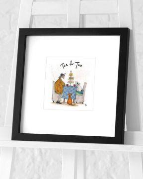 Sam Toft - Tea for Two Framed Art Print