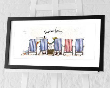 Sam Toft - Summer Loving Framed Art Print