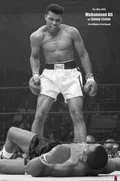 Muhammad Ali - Vs Liston Portrait