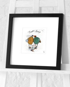 Sam Toft - Together Always Framed Art Print