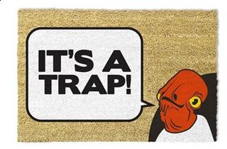 Star Wars Classic - It's A Trap Doormat
