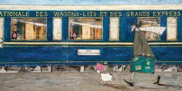 Sam Toft - Orient Express Ooh La La Canvas