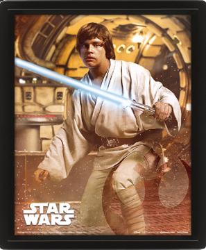 Star Wars Vader Vs Skywalker - 3D Framed Lenticular