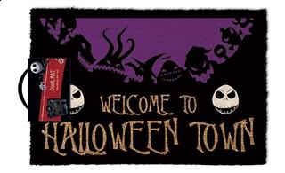 The Nightmare Before Xmas - Halloween Town Doormat