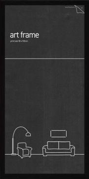 50 x 100 Frame - Black