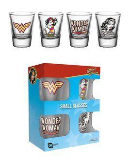 Wonder Woman - Shot Glasses