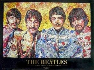 THE BEATLES - SGT PEPPERS MOSAIC