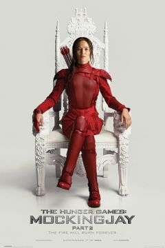 The Hunger Games - Mocking Jay 2 Throne