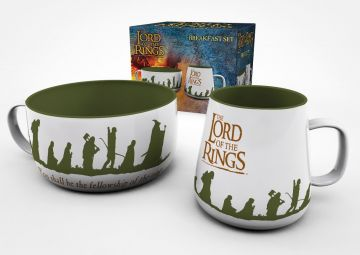 Lord Of The Rings - Breakfast Set