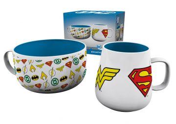 DC Comic Logos - Breakfast Set
