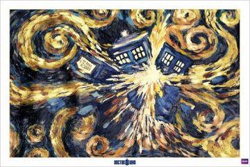 DR WHO - EXPOLDING TARDIS