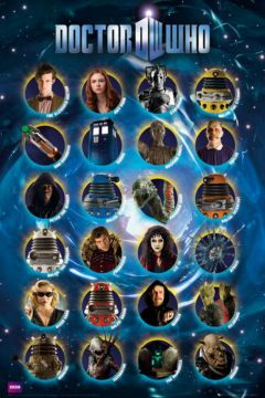 DR WHO - CHARACTERS