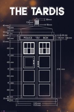 DR WHO - TARDIS PLANS