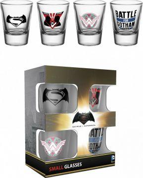 Batman V Superman - Shot Glasses