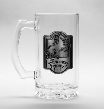 The Lord Of The Rings - Prancing Pony Glass Stein