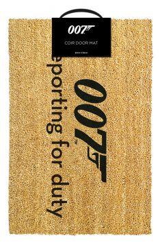 James Bond - Reporting For Duty Doormat
