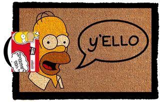 The Simpsons - Y'ello Door Mat