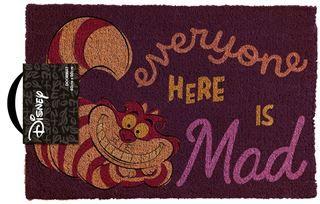 Alice In Wonderland - We're All Mad Here Door Mat