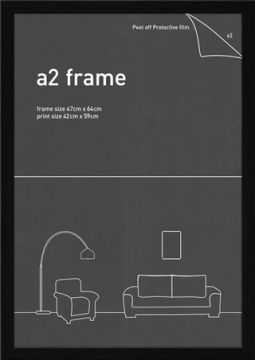 A2 FRAME - BLACK
