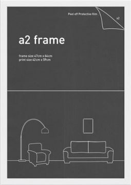 A2 FRAME - WHITE