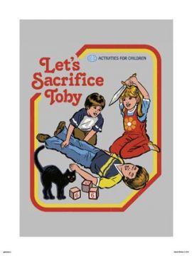 Steven Rhodes - Let's Sacrifice Toby Art Print