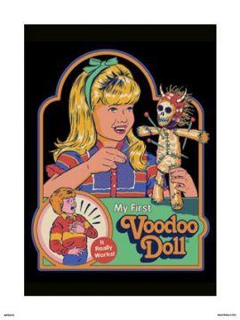 Steven Rhodes - My First Voodoo Doll Art Print
