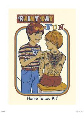 Steven Rhodes - Rainy Days Art Print