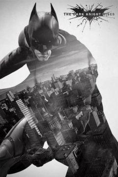 BATMAN - DARK KNIGHT RISES GOTHEM CITY