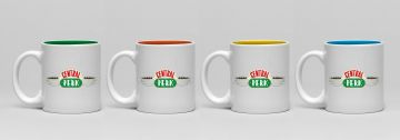 Friends Central Perk - Espresso Mug Set