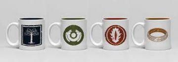 Lord Of The Rings - Espresso Mug Set