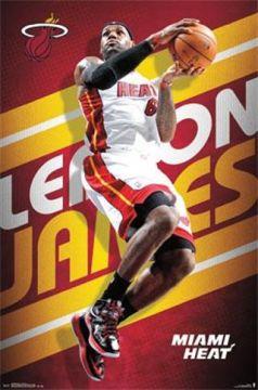 NBA MIAMI HEAT - LEBRON JAMES