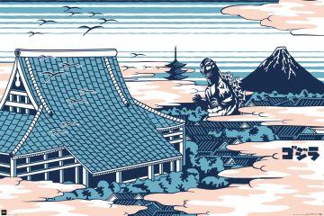 Godzilla - Rooftop