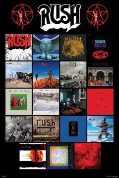 Rush - Album Covers