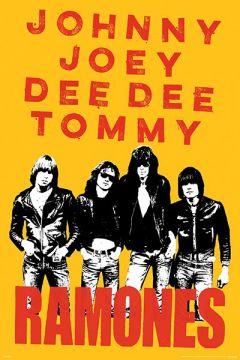 Ramones - Johnny, Joey, Dee Dee, Tommy