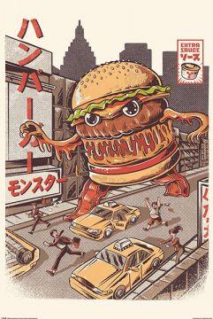 Illustrata - Burgerzilla