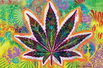 Dean Russo - Marijuana Leaf