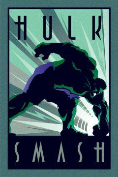 The Hulk - Smash Deco