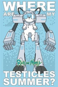 Rick And Morty - Where Are My Testicles