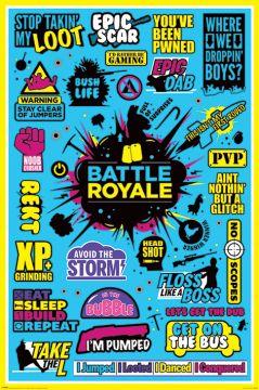 Battle Royale - Infographic