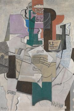 Picasso - Fruit Dish, Bottle and Violin