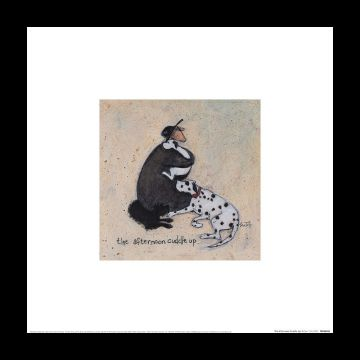 Sam Toft - The Afternoon Cuddle Up Art Print
