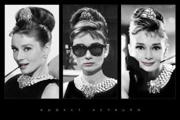 Audrey Hepburn - Triptych