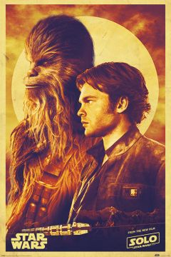 SOLO - A STAR WARS STORY HAN AND CHEWIE
